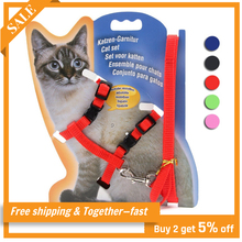 Rope Cats-Accessories Cat-Harness Chest-Strap Pet-Leash Pet-Traning-Supplies Adjustable