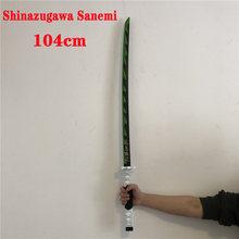 Kimetsu – épée en PU no Yaiba, arme pour tueur de démons, Cosplay, Kochou, Shinobu, samouraï, Katana, couteau de Ninja, jouet accessoire pour adolescent