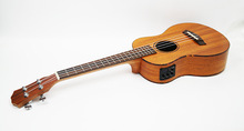 26-inch ukulele small guitar four-stringed instrument mahogany exquisite Eq box version цены
