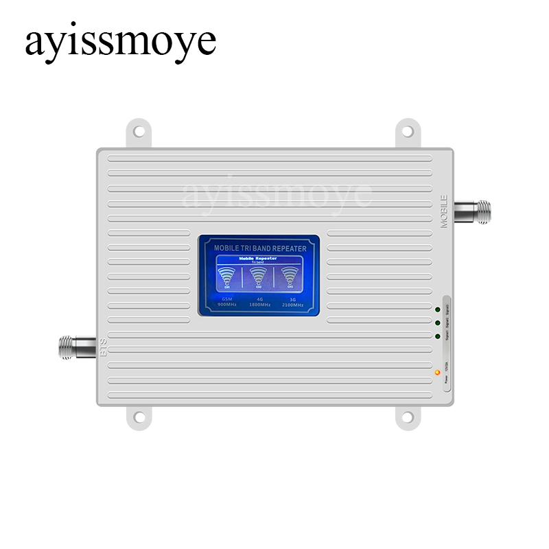 Wholesale 2G 3G 4G 900 1800 2100HZ Coverage Wide Signal Strong Cellular Signal Amplifier Mobile Phone Signal Booster