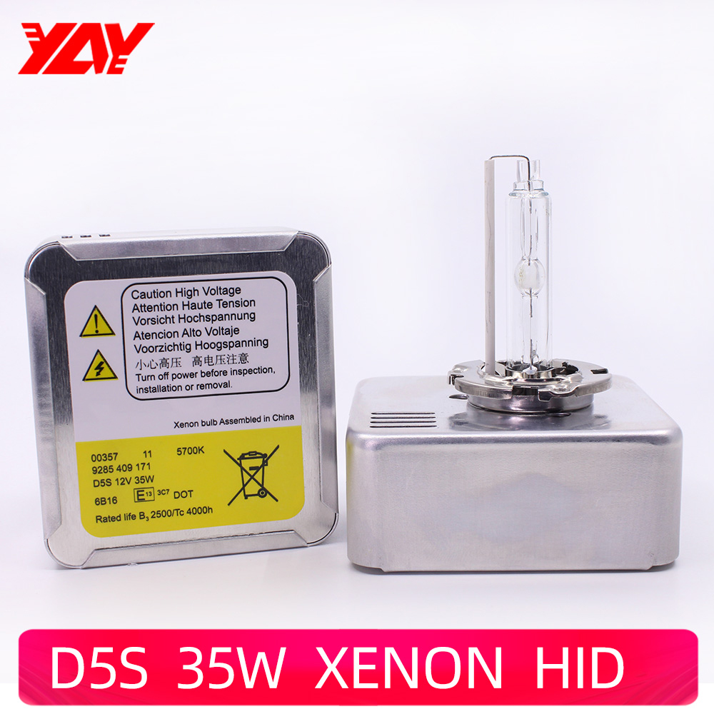 <font><b>D5S</b></font> <font><b>35w</b></font> HID <font><b>Xenon</b></font> Bulb Genuine High Bright <font><b>D5S</b></font> 5700K Lamp Bulb-Kit 12V Ballast and Bulb All in one Lamp for K3 Q7 A1 A3 Tiguan image