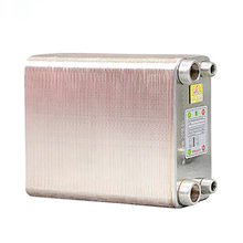 80 Plates stainless steel heat exchanger Brazed plate type water heater SUS304