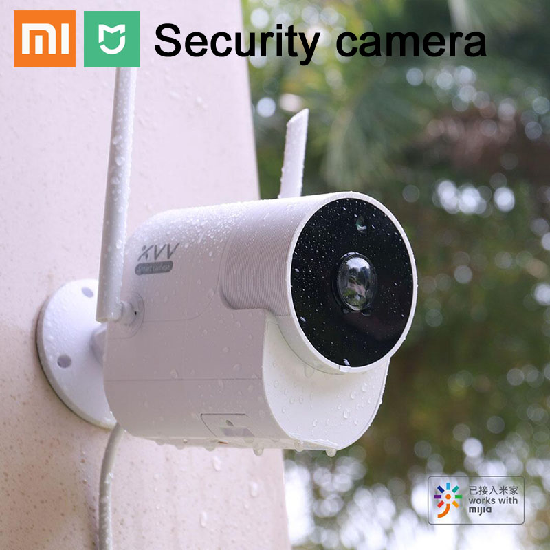 Xiaomi XVV Outdoor Waterproof 360 Panoramic Camera 1080P Surveillance Cam Wireless WIFI High-definition Night Vision Mijia APP