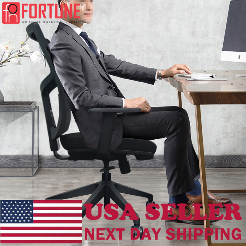 Ship From Texas USA Stock Available Office Chair Ergonomic Swivel Mesh Heavy Duty Work From Home Computer Chairs Gaming Armchair