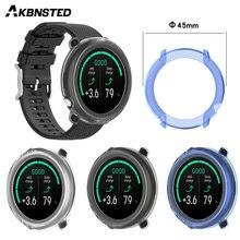 Akbnsted tpu Мягкий силиконовый защитный чехол для умных часов