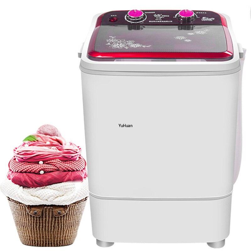 Mini Washing Machine With Dehydration UV Blue Light UV  Washing Machine   Gold Drill  Washer And Dryer  Washing Machine