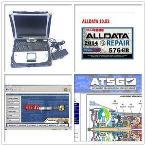 Alldata, todos los datos, reparación automática, Alldata m... che... 2020 cf19 ATSG en 2TB HDD, instalación de una buena computadora para Panasonic cf19, portátil de 4GB