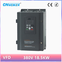 frequency inverter AC 380V 15kw three phase output Adjustable Speed 50HZ 60HZ VFD frequency converter for motor speed
