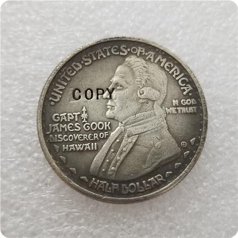 Гавайская Памятная Половина копия доллара США 1928