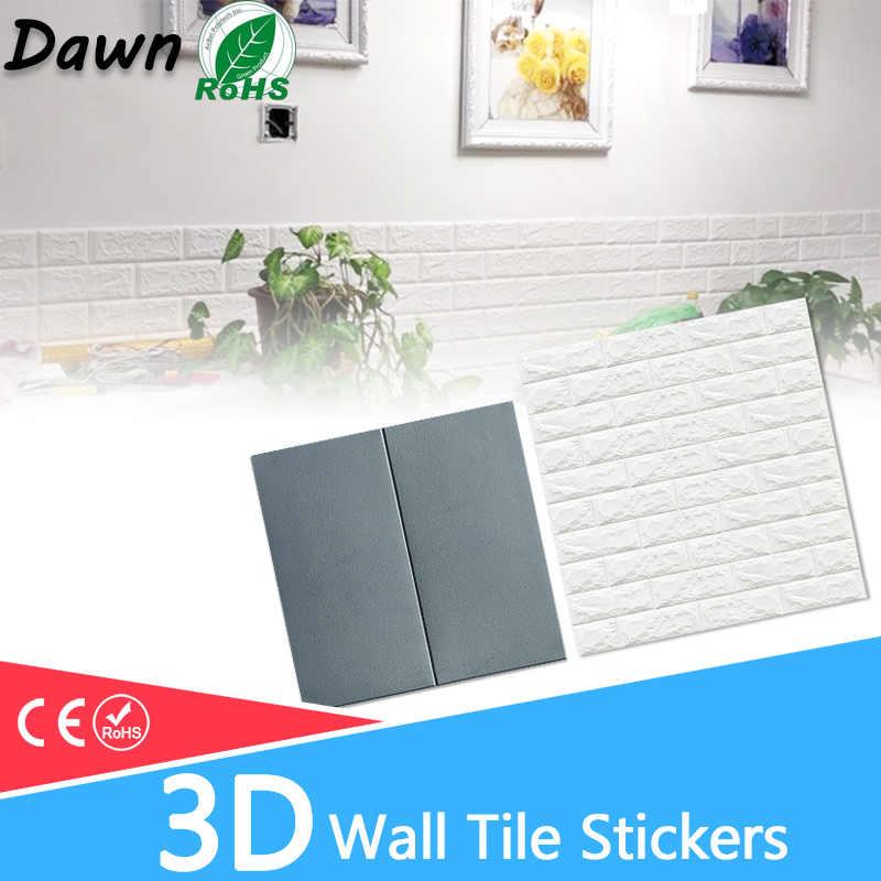 Naklejki ścienne 3D marmurowa cegła wodoodporny papier ścienny samoprzylepne dekoracje tło dla dzieci pokój dzienny naklejka ścienna