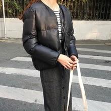 Mooirue 2019 Autumn Winter Solid Casual Coats Women Zipper Button Streetwear Harajuku Korean Plus Size Parkas Coat