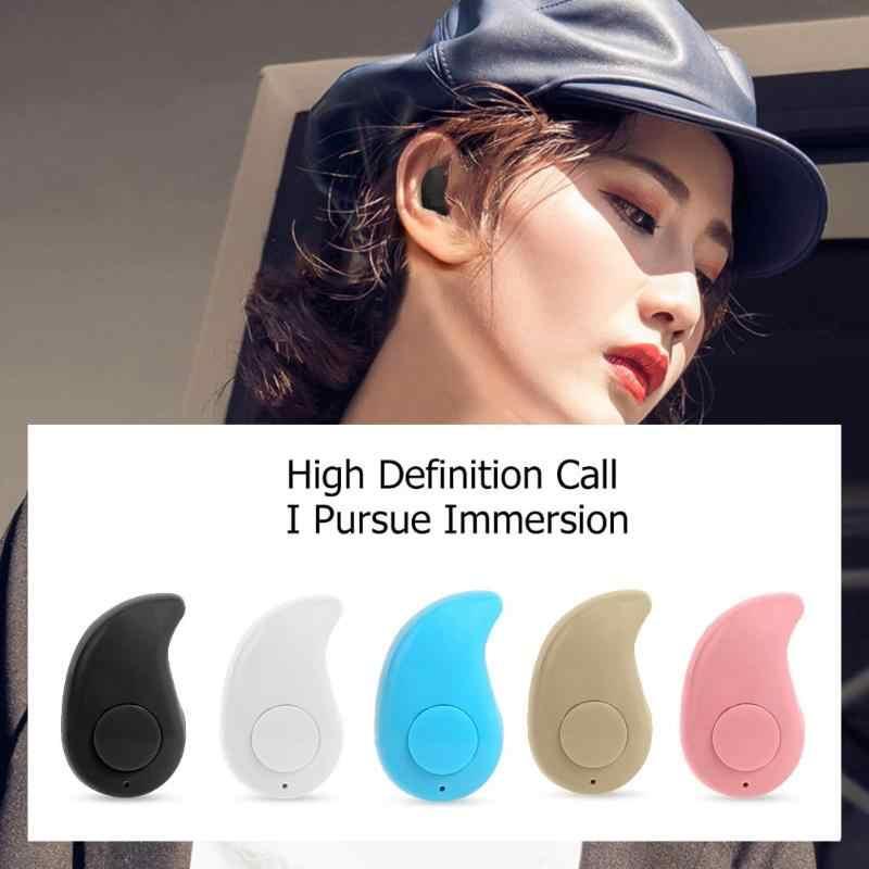 Nirkabel Bluetooth S530 Mini Tombol Earbud In-Ear Headset Hands-Free Sport Earphone untuk Ponsel Pintar
