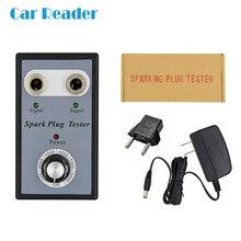 Автомобильный тестер свечей зажигания, автомобильный диагностический инструмент, тестеры зажигания, анализатор с двойным отверстием для 12 в бензиновых автомобилей, бензиновых автомобилей