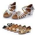 Детская обувь для маленьких девочек; Танцевальная обувь принцессы для бальных танцев  Танго  латинских танцев; сандалии для улицы; летняя де...