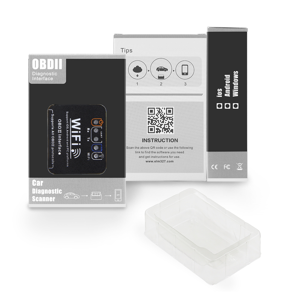 For Android IOS ELM 327 V1 5 WIFI OBD2 Scanner Easydiag ELM327 V1 5 wifi OBD For Android/IOS ELM 327 V1.5 WIFI OBD2 Scanner Easydiag ELM327 V1.5 wifi OBD Car Auto Diagnostic Tool WI-FI OBDII Code Reader