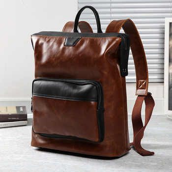 New Korean Backpack Academic Style Retro Postman Pack Backpack - DISCOUNT ITEM  20 OFF Luggage & Bags