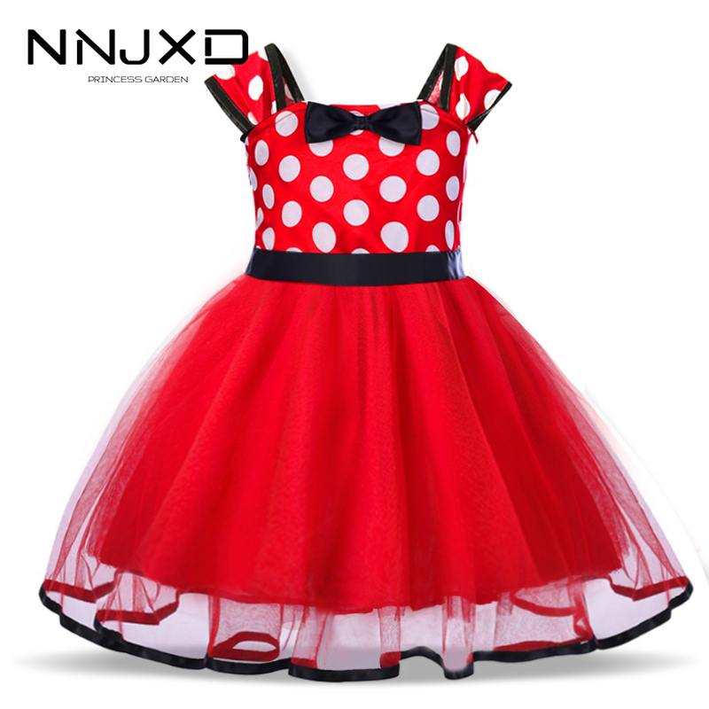 <font><b>Christmas</b></font> Gift For Little <font><b>Girl</b></font> <font><b>Long</b></font> <font><b>Sleeves</b></font> <font><b>Red</b></font> Santa Clus Print Tutu <font><b>Dress</b></font> New Year Party <font><b>Girls</b></font> Clothing For 2 3 4 5 6 Years image