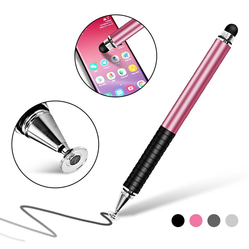 Универсальный стилус 2 в 1, рисунок, планшетофон, емкостный экран, сенсорная ручка для мобильного телефона Android, умная планшетория