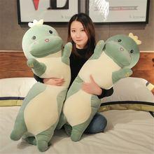 Новая мягкая плюшевая игрушка динозавр Подушка для сна девочки