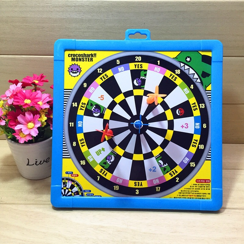 Children Dart Plate Wipable Whiteboard Toy Game Scaleplate Plastic Magnetic Dart Board Stall Hot Selling With Writing Board