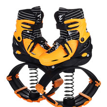 Детская верхняя одежда-Кенгуру Прыжки обувь для похудения кроссовки для прыжков прыгающий обувь для фитнеса Тонизирующая обувь; спортивные кроссовки EUR 30-42 60 кг