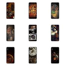 TPU Cell Phone Cover Case For Redmi Note 4 5 5A 6 7 8 8T 9 9S Pro Max Steampunk Camera(China)