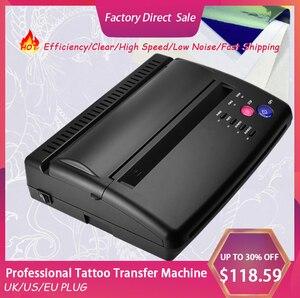 Трафарет для татуировки, копир, принтер для рисования, термо-мейкер, копир для татуировки, переводная бумага, Перманентный макияж, принадлеж...