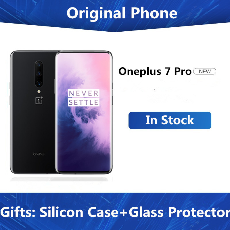 """Global Rom Oneplus 7 Pro Cell Phone Snapdragon 855 Android 9.0 6.67"""" IPS 3120X1440 12GB RAM 256GB ROM 48.0MP Fingerprint NFC Cellphones  - AliExpress"""