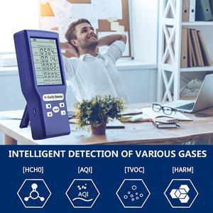 Digital CO2 Sensor Ppm Meters Air Quality Meter Monitor Mini Protable Carbon Dioxide Detector Reliable Digital CO2 Sensor Meter