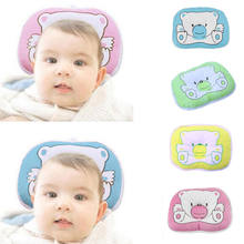 New Baby Pillow Newborn Anti Flat Head Syndrome for Crib Cot Bed Neck Support(China)