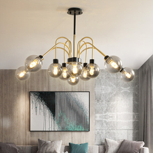 Modern Pendant Lights Glass lampshade Modern Metal Light Pendant Lamp For Living Room Lamp  ceiling