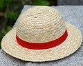 2021 Одна деталь соломенная шляпа Луффи для костюмированной вечеринки по японскому аниме шляпы для косплея мультфильм Кепки; Очаровательные ...