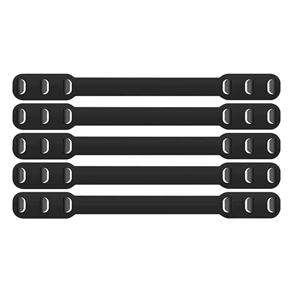 Protection Ears 5pcs Reusable Mask Extender Mask Clip Non-slip Rope Buckle Set For Adult And Child's Adjustable Strap Extender