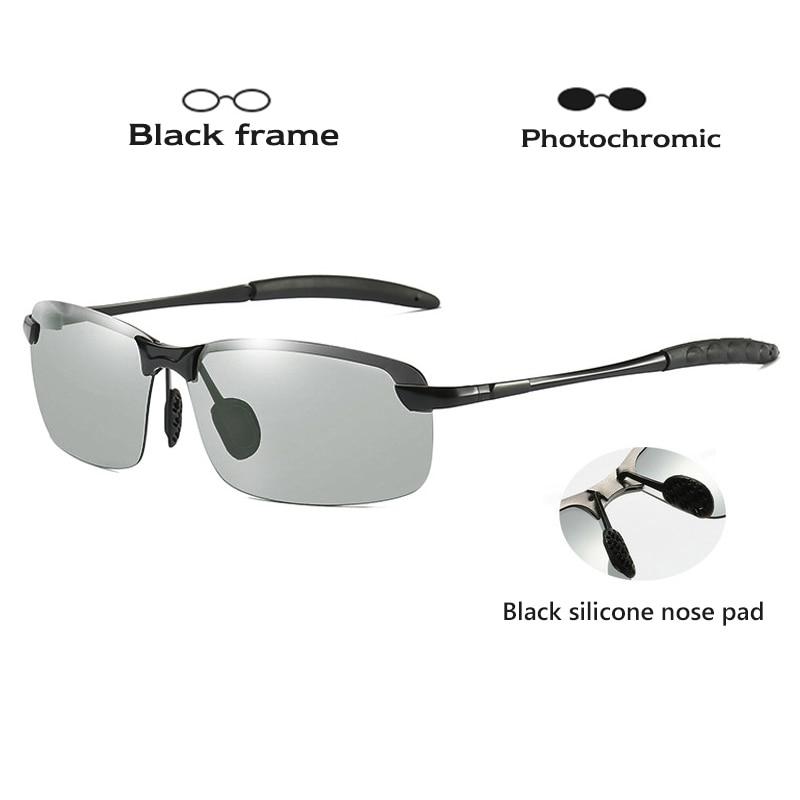 Photochromic Sunglasses With Polarized Lens 1