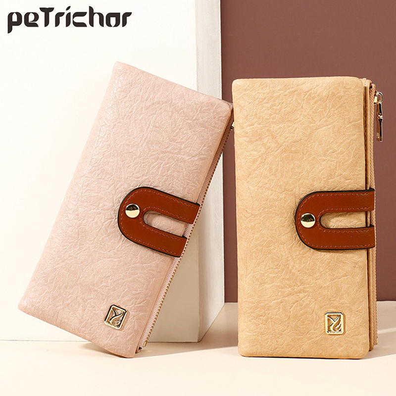 Vintage Wallet Many Departments Wallets Women Clutch Ladies Purse Phone Pocket Card Holder Female Long Carteras With Zipper NEW