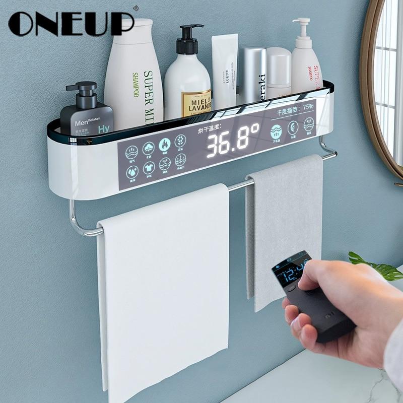 Oneup Bathroom Shelf Wall Mounted Shampoo Cosmetic Shower Shelves Bathroom Towel Rack Kitchen Storage Rack Bath Accessories Bathroom Accessories Sets Aliexpress