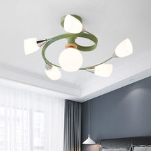 Подвесной светильник macaron для спальни гостиной отеля простой