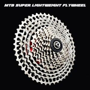 Image 5 - SUNSHNE MTB 11 Geschwindigkeit 11 50 t Kassette 365g Ultraleicht Fahrrad Freilauf 11 t Fahrrad Teile Berg Fur shimano M9000 M800
