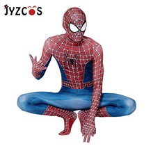 JYZCOS Spiderman Costume 3D Printed Kids Adult Lycra Spandex Classic Remitoni Spider-Man Costume For Halloween Mascot Cosplay high quality batman doj costume 3d print custom super hero catsuit spandex lycra halloween cosplay costume for adult men kids