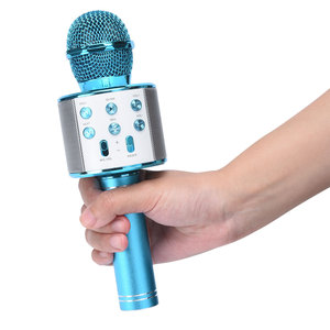 Image 4 - WS858 Portable Bluetooth Karaoke Microphone Wireless Professional Speaker Home KTV Handheld Microphone