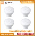 2020New Xiaomi Mijia MJYD02YL Nacht Licht 2 Generation Einstellbare Helligkeit Infrarot Smart Menschlichen Körper Sensor Mit Magnetische Basis