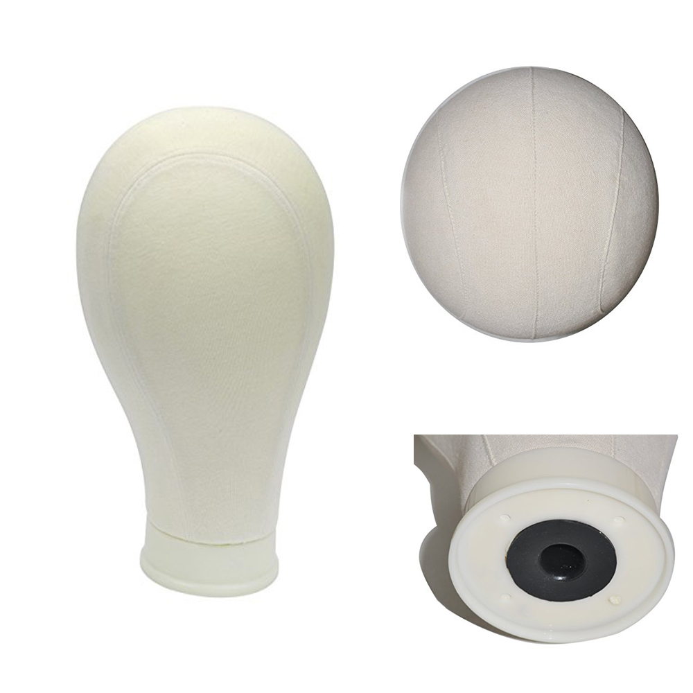 21 quot 22 quot 23 quot 24 quot 25 quot Canvas Block Head For Wig Making Wig Display Style Styling Mannequin Manikin Head Free T pins And Clamp