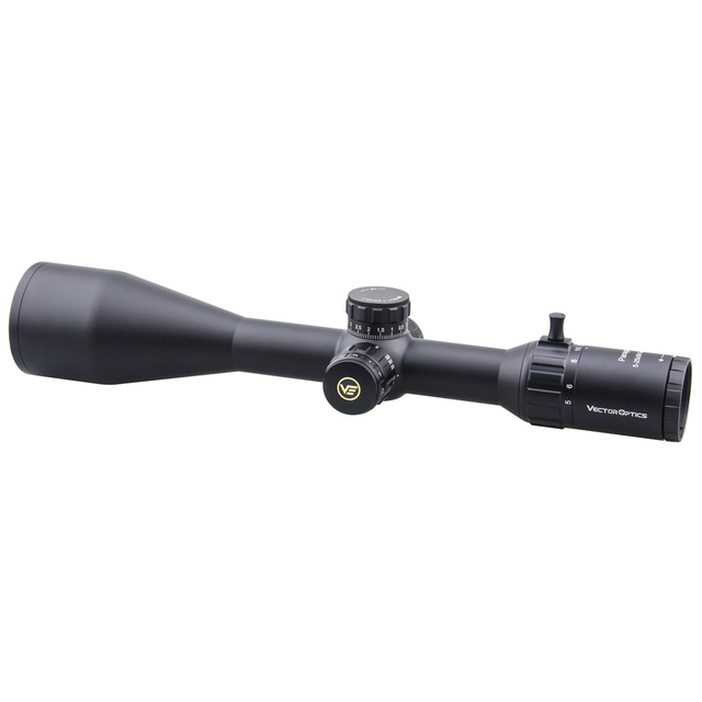 Vector Optics Gen2 Paragon 5-25x56 Tactical Riflescope Hunting Rifle Scope 1/10 MIL LeREE Lens 90% Light 2KM Long Range .338 2