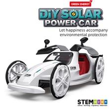 Free Shopping MIni Design Solar Energy Cars Toy Intelligent Car Solar Power Educational