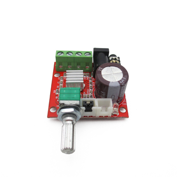 1pcs 2*10W dual channel HIFI fever 2 digital mini power amplifier board computer audio image