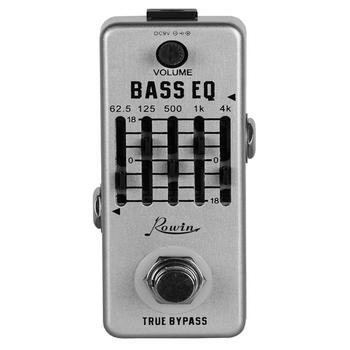Rowin LEF-317B  Guitar bass EQ Pedal Effect Adjust the tone to achieve the desired effect rowin analog dumbler guitar effect pedal