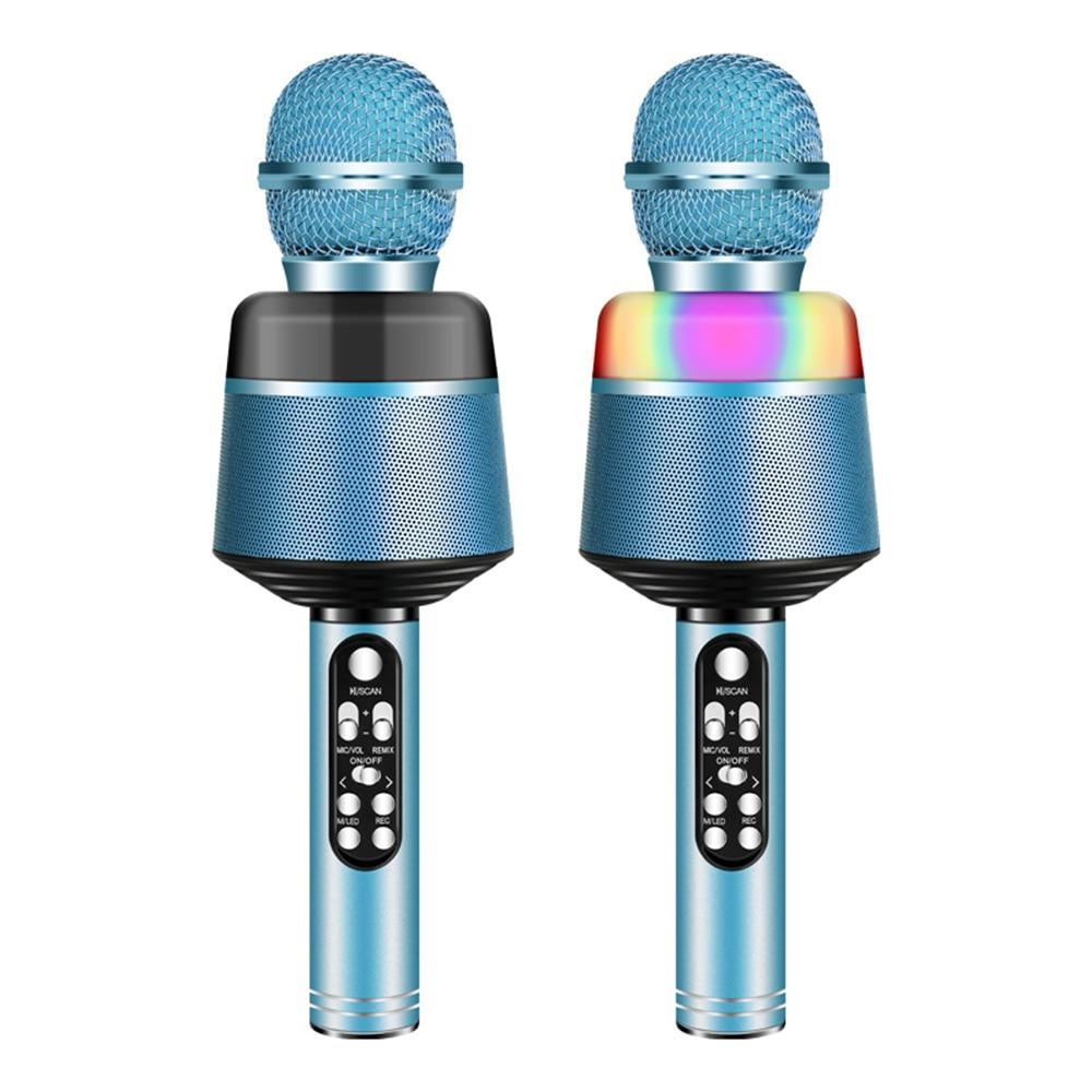 Portable Microphone Bluetooth Karaoke Microphones Professional Wireless Speaker Outdoor KTV Handheld Micro Mics Home New Arrival - ANKUX Tech Co., Ltd