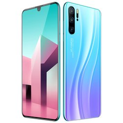 Neue P86 Echt 6,3-zoll Ultra High-definition HD Wasser Tropfen Bildschirm Android 9,1 System MTK6797 Zehn-core-Chip 2G + 16G Smart