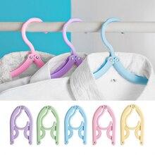 Portable Travel Clothes Hanger Folding Hangers Space Saving Laundry Supplies SDF-SHIP
