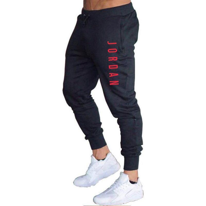 NEUE 2020 Männer Casual JORDAN Hosen Lange Hosen Trainingsanzug Gym Sport Training Jogger Solide Taschen Jogginghose Plus Größe M-XXL